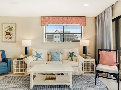 Photo for Cozy remodeled condo steps away from the gulf in Blue Mountain Beach
