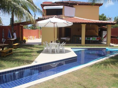 Photo for Large house with four suites in Porto Seguro with artesian well