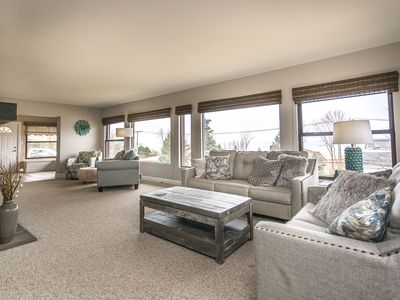 Photo for Dune Pointe- Beautiful 5 bedroom 3 bath home directly across from Lake Michigan