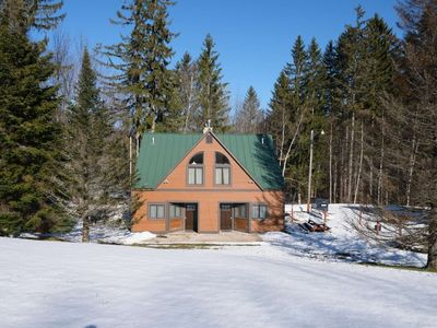 Photo for ☆ SKI ON & OFF ☆ Spruce Glen A on Great Eastern Trail w/Sauna, Fireplace