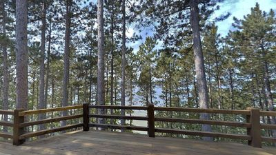 And breathtaking views just from your deck!