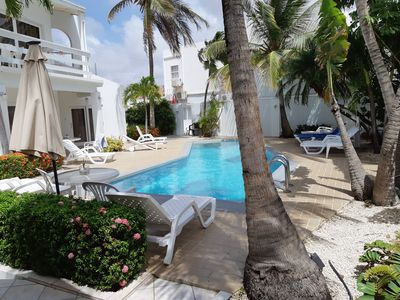 Photo for 1-Bedroom vacation apartment on Aruba and few minutes away from eag;le beach!
