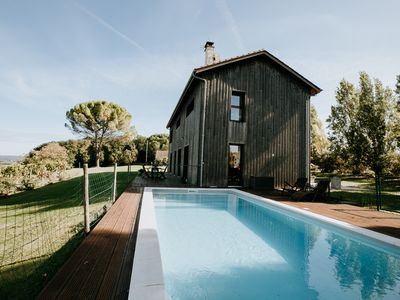 Photo for Tobacco dryer house with swimming pool with panoramic view