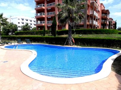 Photo for New 2 Bedroom Apartment With Wifi, Air Conditioning,  Sea Views and Shared Pool