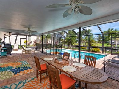 Photo for Paradise on the Canal w/ Screened, Kid-Safe Pool & Lanai