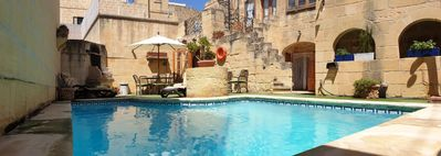 Photo for Ta' Ganni Farmhouse - 300 year old Converted Farmhouse with Private Pool