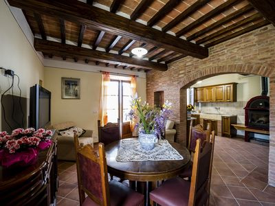 Photo for Independent Holiday House in the heart of the Tuscan countryside, great price