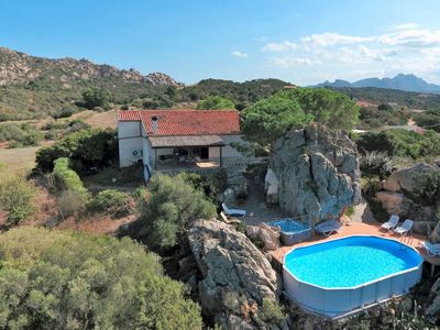 Photo for 4 bedroom Villa, sleeps 8 in Baraccamenti with Pool, Air Con and WiFi