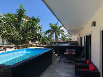 Photo for Aldea Thai master suite  with private pool &Terraze 2 big br by oceanfront