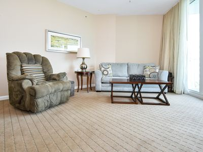 Photo for FULLY EQUIPPED, OPEN CONCEPT condo! Resort has POOLS & NEARBY BEACHES! 🏖️