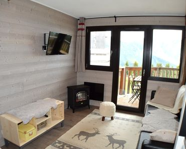 Photo for Station Avoriaz Nice apartment 4/6 people including household