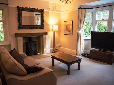 Photo for BOURNECOAST: Spacious first floor apartment - part of Manor House - FM6167