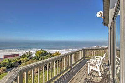 Tranquility awaits you at 'Sea B's,' a charming vacation rental house in Irish Beach!