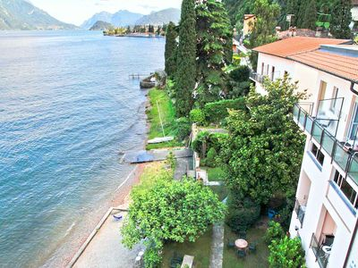 Photo for Property on the edge of the water with communal gardens.