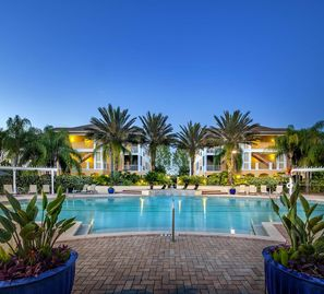 Poolside vacation condo