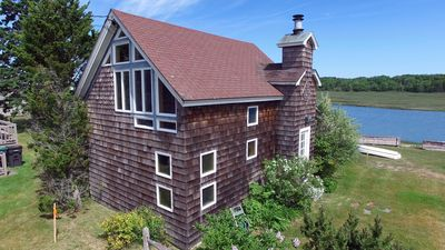 Photo for Cozy ocean front cottage with sweeping views of Rachel Carson Wildlife Refuge