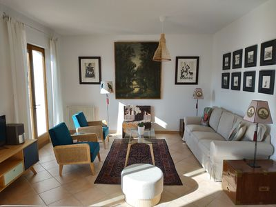 Photo for Coco-Lin Apartment, La Maison Du Voyageur, Moustiers Sainte Marie