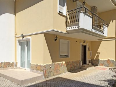 Main entrance and balcony to the 2nd and 3rd bedrooms