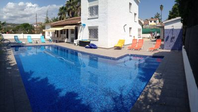 Photo for Villa with huge private pool 5 m x 11 m, 800 yards from nearest beach with Wifi