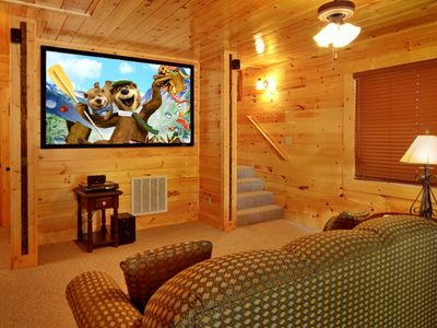 Photo for 3 Bedroom with your own private Home Theater room with 8 foot theater screen