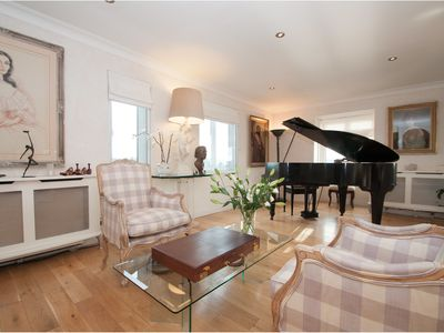 Photo for Luxurious 2 bed penthouse flat with River views in idyllic Fulham (Veeve)