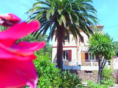 Photo for The villa is located 200 meters from the beaches of agay bay.