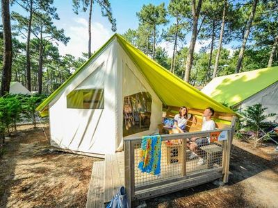 Photo for Camping Le Vieux Port ***** - 3-room Eco Tent 4 people