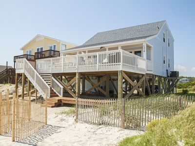 Photo for Summer Sands: 4 Bed/2 Bath Oceanfront Home on West Beach