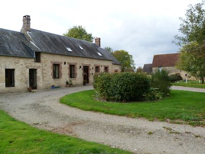 Photo for Traditional stone farmhouse set in 12 acres of land - ideal for rest, relaxation