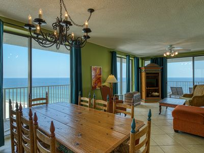 Photo for Waterfront condo w/shared hot tub/pool & fitness room, beach access