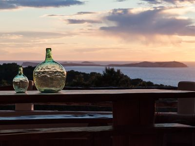 Photo for Cala Salada- Charming family house- Stunning views and sunset