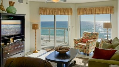 Photo for Absolute Vacationer's Paradise! Spectacular Beachfront Condo! Heated Pool & Spa