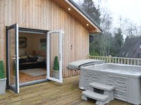 Woodside Lodge is furnished and maintained to very high standard.