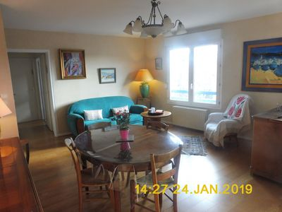 Photo for 50m2 apartment, 1 bedroom, very well located: Home and comfort