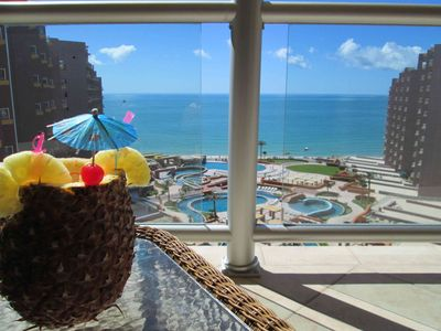 Photo for Stay with Us! Tommy Bahama Style Luxury Condo - Gorgeous Ocean  Views All Rooms
