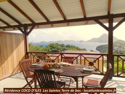Photo for HOLY LUXURY ACCOMMODATION 4 stars **** WITH SUPERB VIEW ON THE BAY