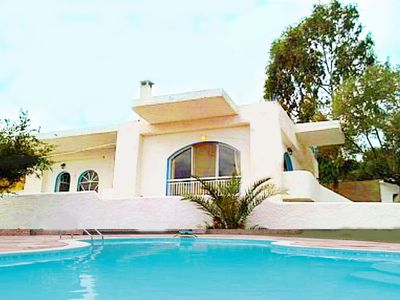 Photo for A beautiful Holiday Villa with Private Pool with breathtaking sea view