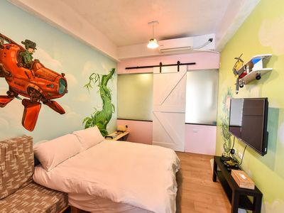 Photo for Double Room in Tainan  Themed Room Design Hostel