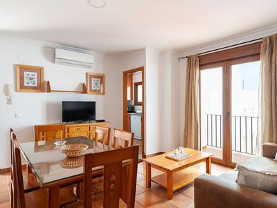 Photo for Marvelous Apartment in City Centre Close to Beach with Balcony, Terrace, Air Conditioning & Wi-Fi