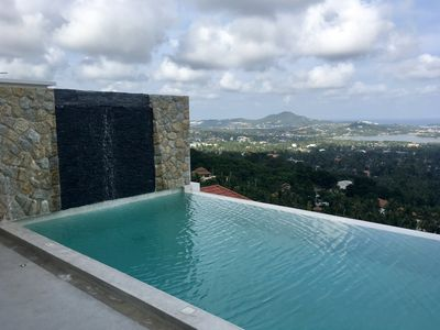 Photo for New Melissa Villa 1BR Infinity Pool Panoramic Sea View