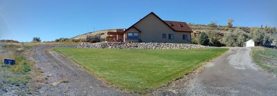 Beautiful Home in Country on 3 Acres, Spring fed  Pond, Wildlife, 5 min. to town