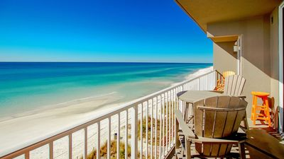 Photo for Beautiful gulf front unit with master on the gulf, bunk room, FREE Beach Service