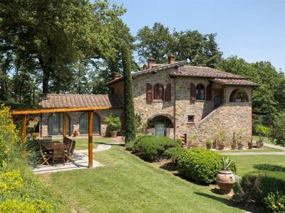 Photo for Beautiful stonehouse with private pool in top position, perfect for family vacation in Tuscany