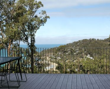 Photo for WYE UP -  Architecturally designed. In the treetops. Overlooking the sea.