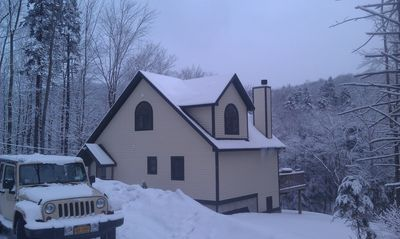 Photo for Mt Snow- Near Swimming Lakes, Golf, Mt Bike, Spa. Enjoy Hot Tub, Pool Table
