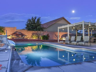 Photo for 4242 | Private Pool and Hot Tub, Water Slide, Playground, Lots of Parking, Ping Pong, and More!