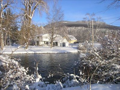 Perfect location: Norman Rockwell village on the Battenkill River