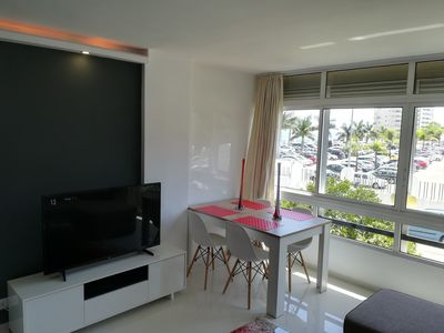 Photo for Luxurious apartment with pool, sea view & parking