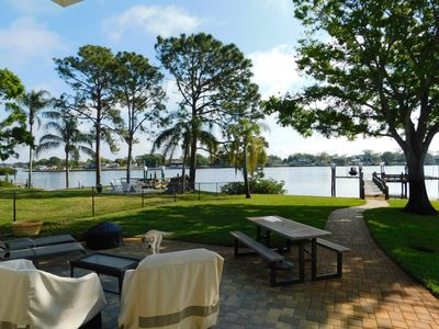 Photo for Newly Renovated Gorgeous Waterfront Property w/ Access To Gulf & Tarpon Springs