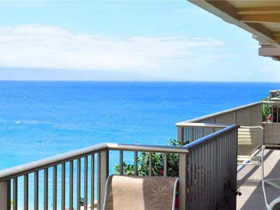 Photo for Whaler at Kaanapali Beach Two Bedroom Ocean View corner Suite. #1173